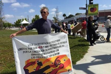 Ventura County Local Joins Protest at the Todo Poder Oxnard Strawberry Festival