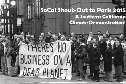 12/12 – Building Blocks Against Climate Change! – Shout Out to Paris