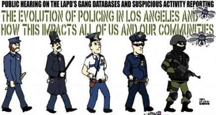 3/19 – HRC Hearing on the LAPD SAR Program and Gang Injunctions