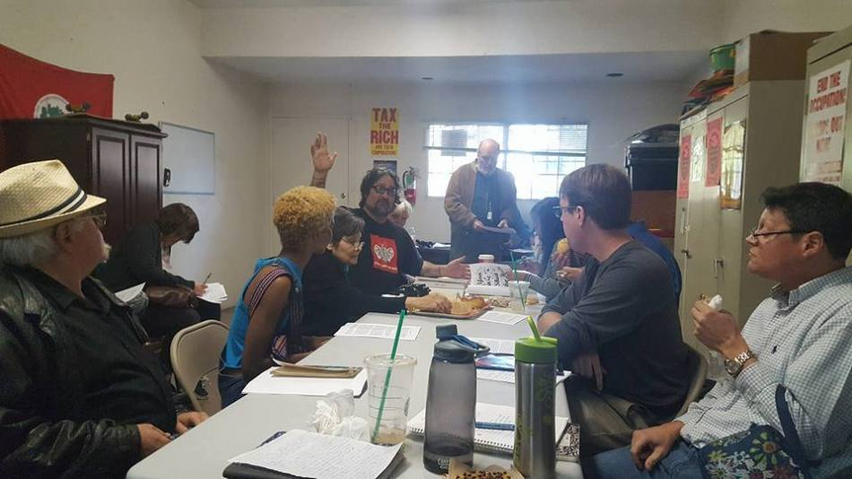 Socialist Party Los Angeles Local Monthly Meeting – 1/7