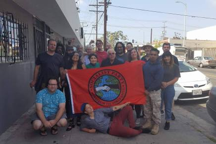 4/7 – Socialist Party Los Angeles Local Monthly Meeting