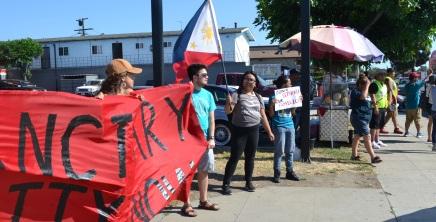 Protesters Demand Long Beach Become a SanctuaryCity