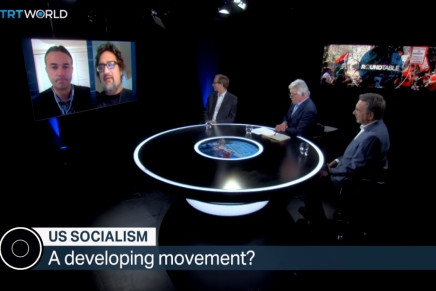Mimi Soltysik Appears on TRTWORLD Roundtable – US Socialism: A Developing Movement?