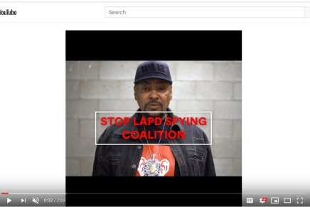 Support the Stop LAPD Spying Coalition