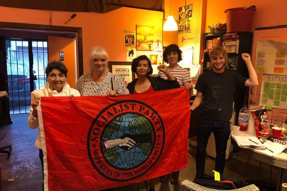 8/16 Socialist Party Long Beach Local – MonthlyMeeting